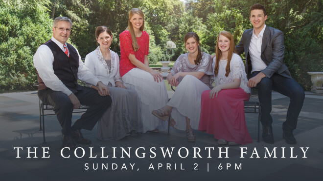 The Collingsworth Family In Concert