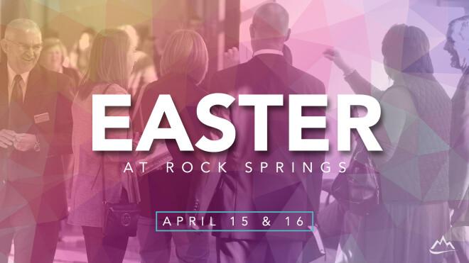 Easter at Rock Springs