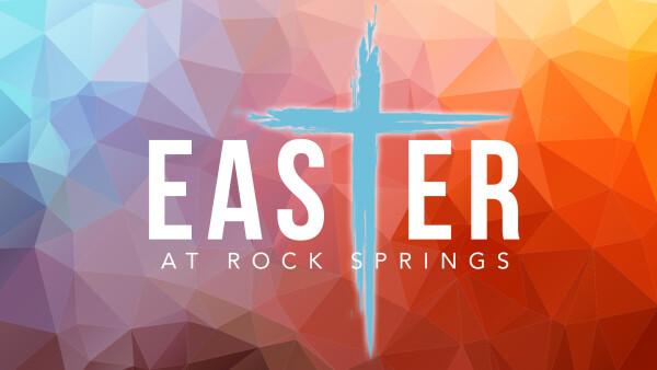 Easter Rolls Away the Stones