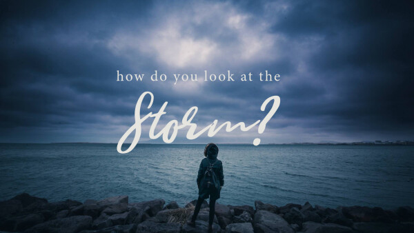 How Do You Look at the Storm?