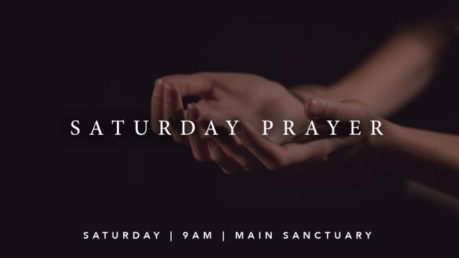 SATURDAY PRAYER GROUP