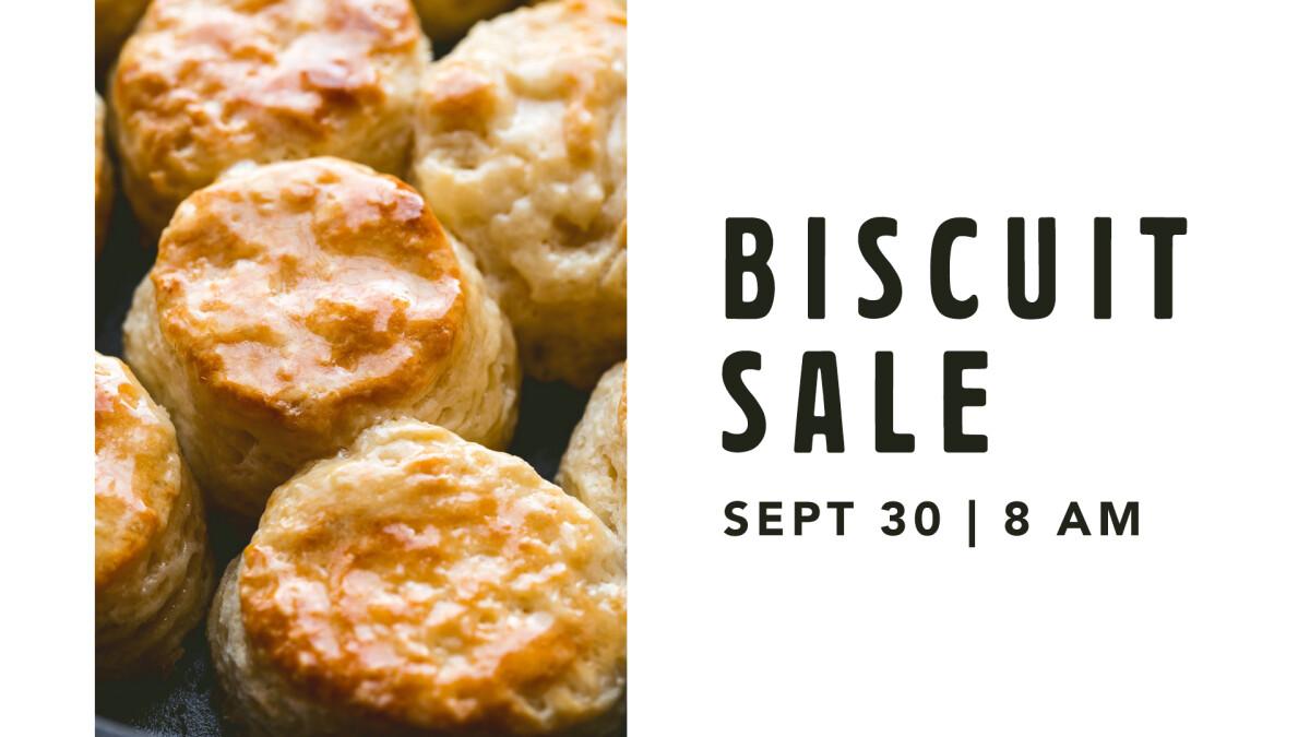 Biscuit Sale Fundraiser