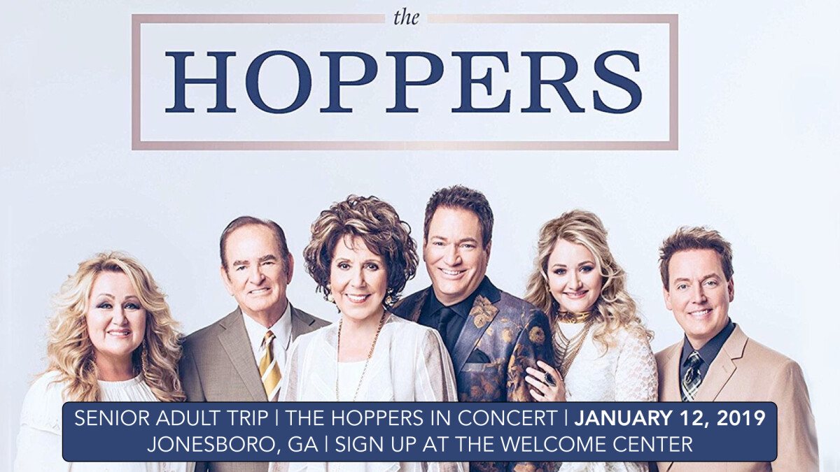 Senior Adult Trip to The Hoppers Concert