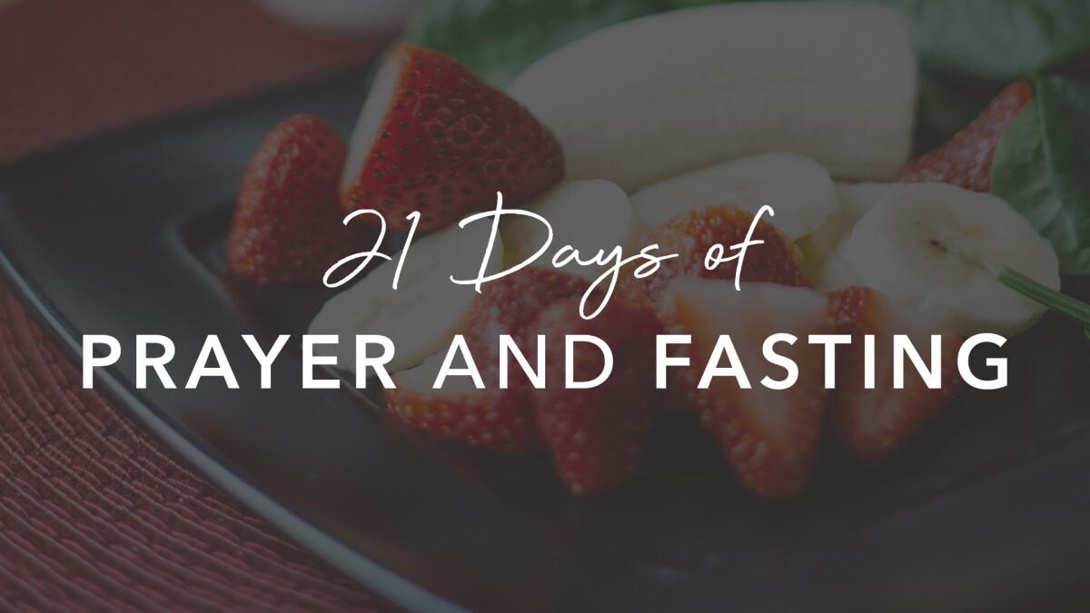2019 Prayer + Fast