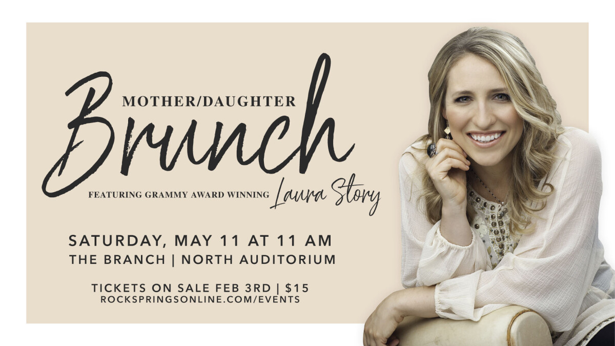Mother/Daughter Brunch with Laura Story