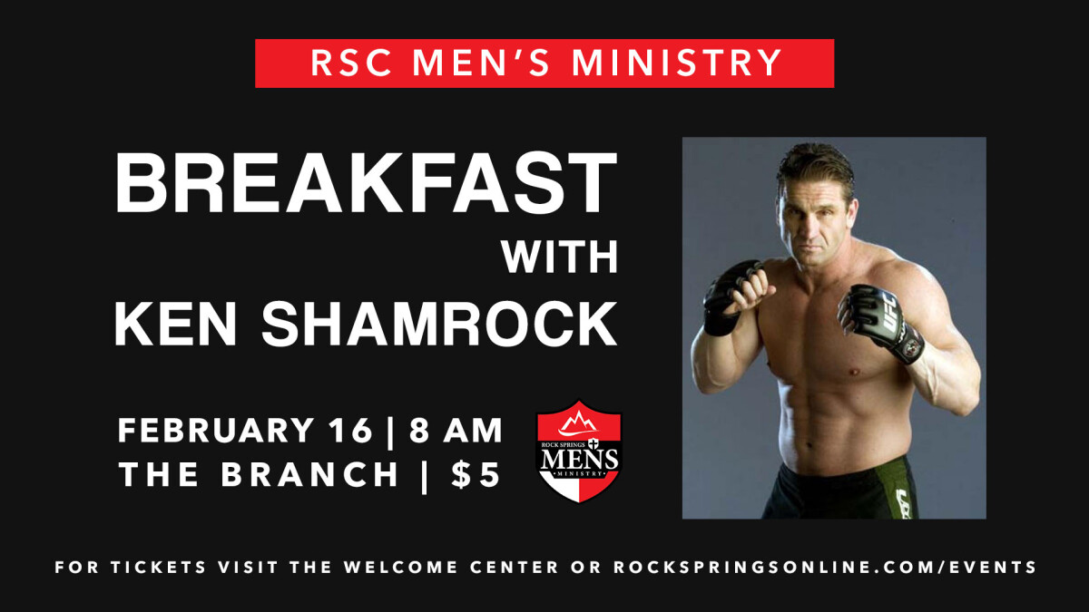 Men's Breakfast with Ken Shamrock