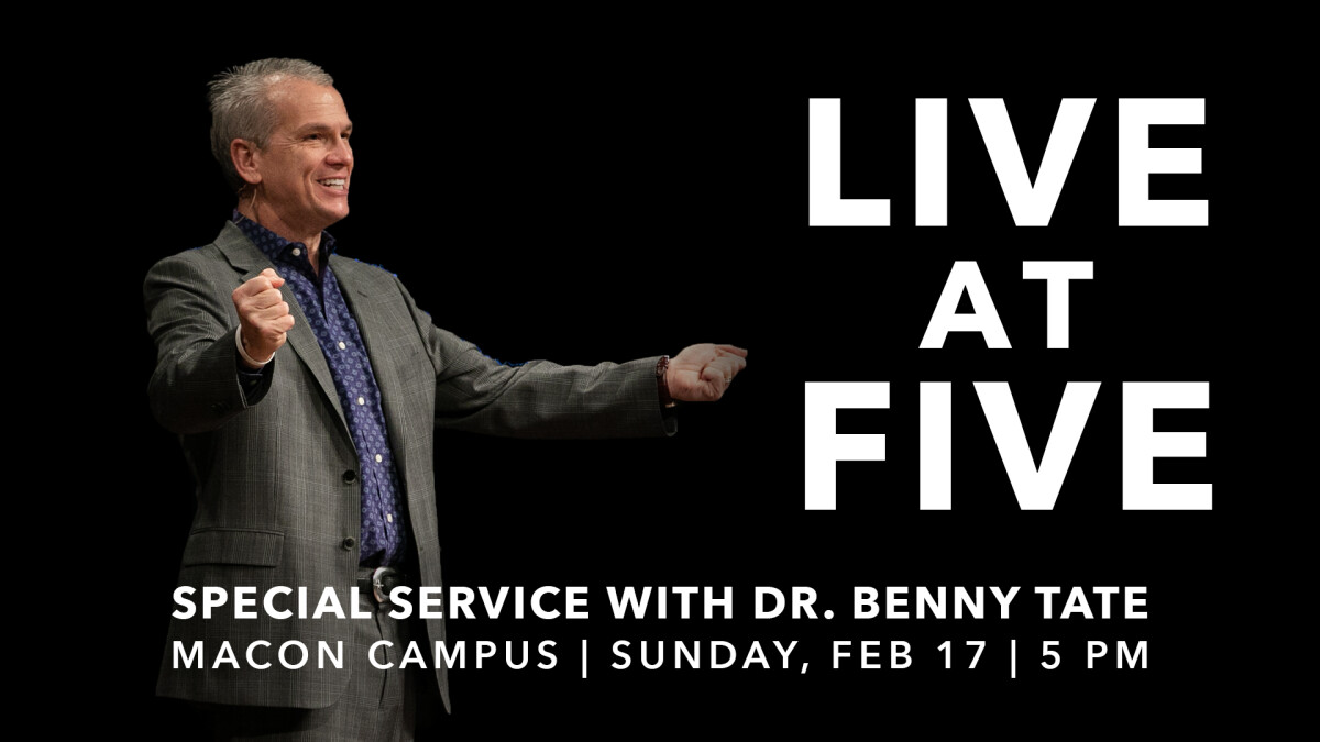 Live @ 5 with Pastor Benny