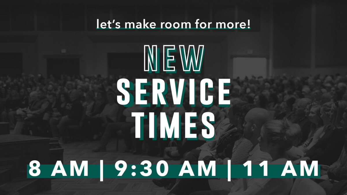 New Service Time Kick Off