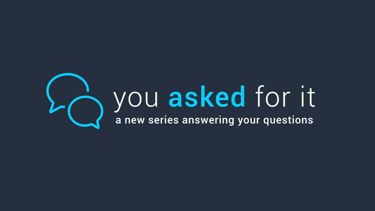 New Sermon Series: You Asked For It