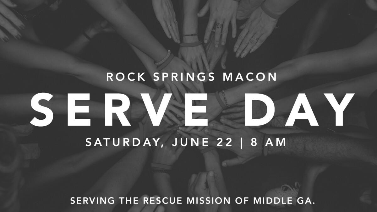 Macon Campus Serve Day