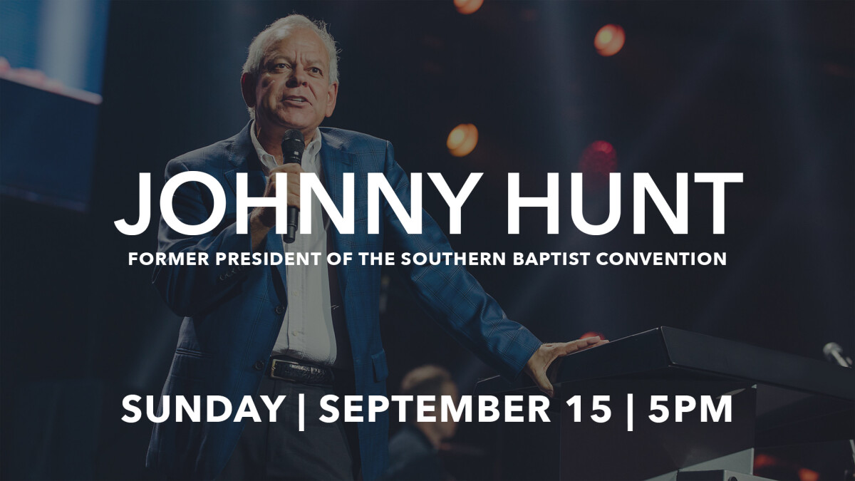 Special Guest Johnny Hunt