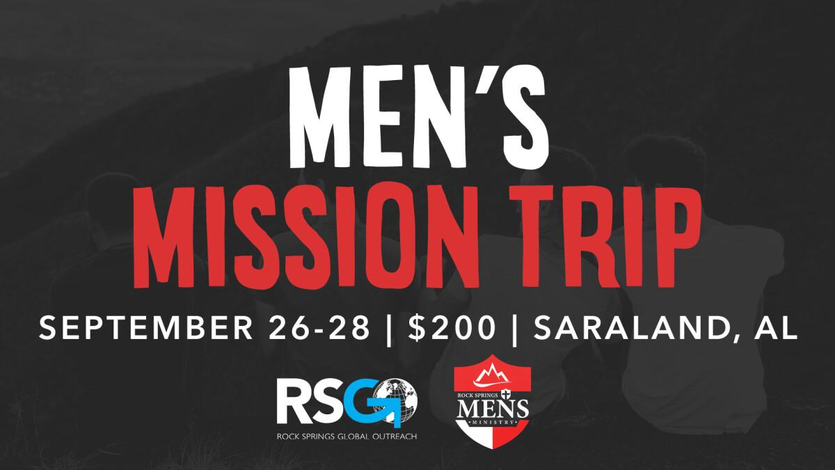 Men's Mission Trip - Macon Campus