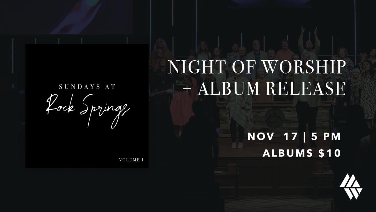 Night of Worship + Album Release