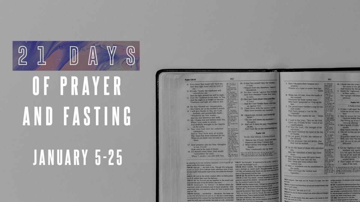 2020 Prayer + Fast
