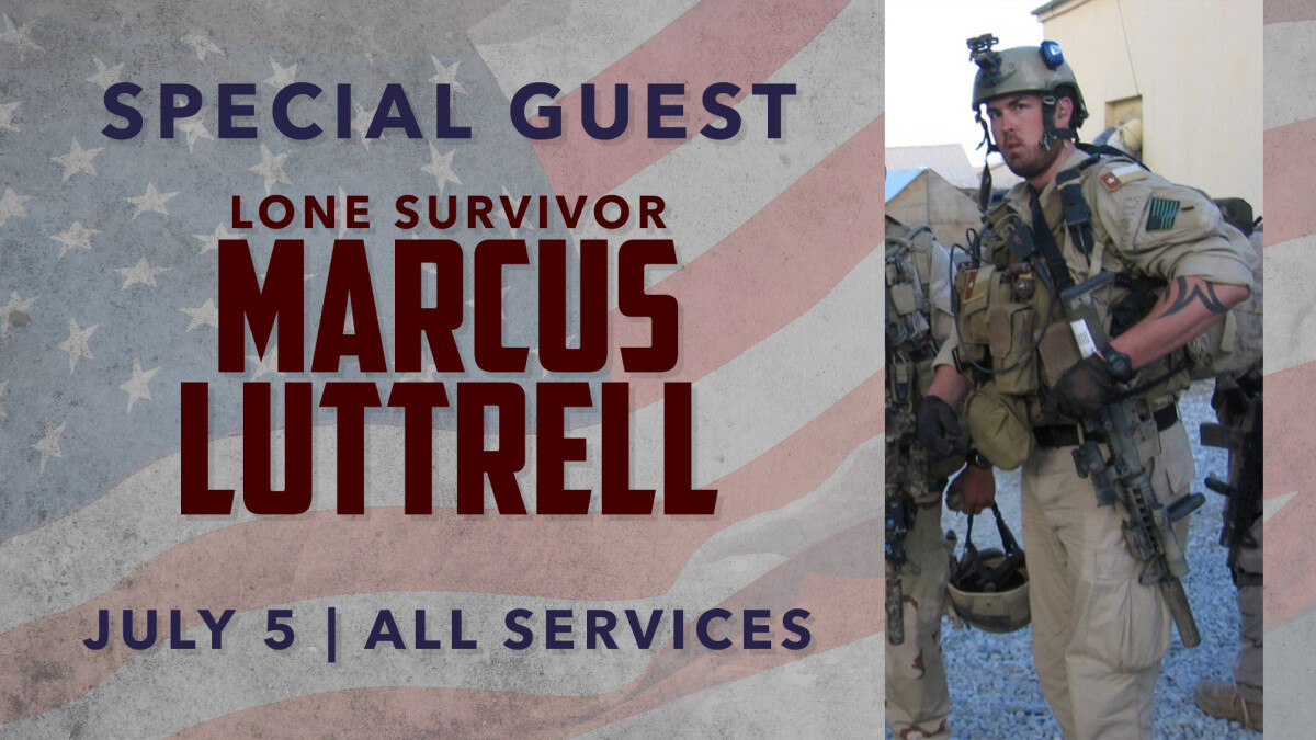 SPECIAL GUEST MARCUS LUTTRELL