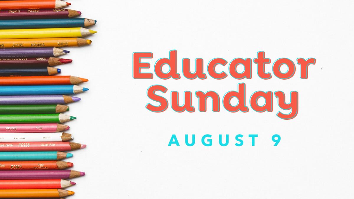 Educator Sunday