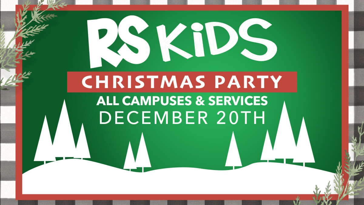RS Kids Christmas Party
